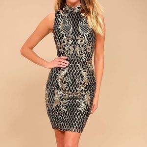 Lulu's Marquee Dreams Dress NWT